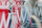 graphic of UW's logo, the crest