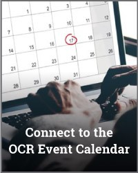 OCR Events Calendar