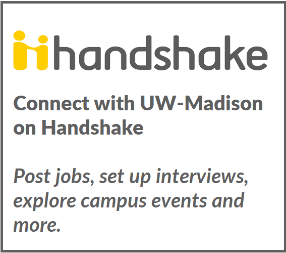 Sign up for an employer account on Handshake here