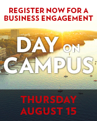 Register now for a business engagement day on campus.